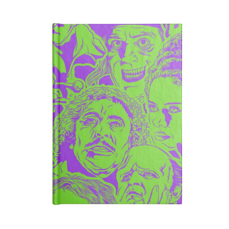 The Gang's All Here! Accessories Lined Journal Notebook by pentoolarts's Artist Shop