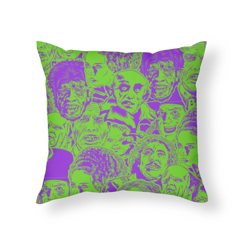 The Gang's All Here! Home Throw Pillow by pentoolarts's Artist Shop