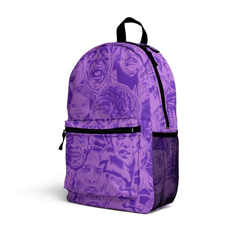 Purple IS Horror... Accessories Bag by pentoolarts's Artist Shop