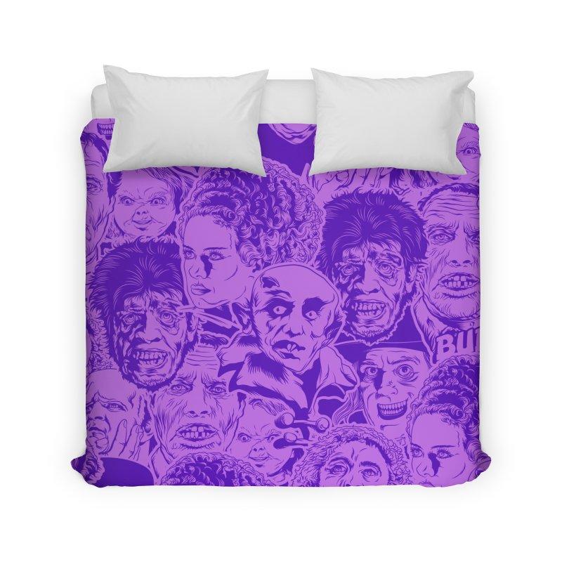 Purple IS Horror... Home Duvet by pentoolarts's Artist Shop