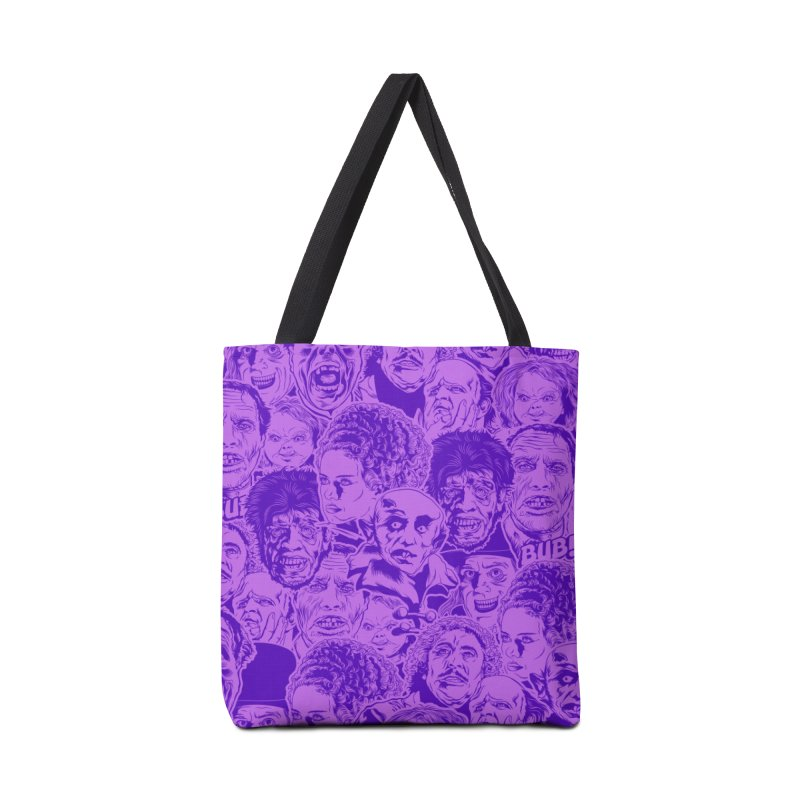 Purple IS Horror... Accessories Tote Bag Bag by pentoolarts's Artist Shop