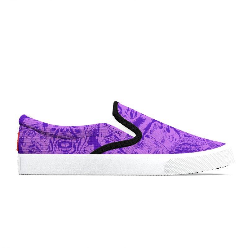 Purple IS Horror... Men's Shoes by pentoolarts's Artist Shop