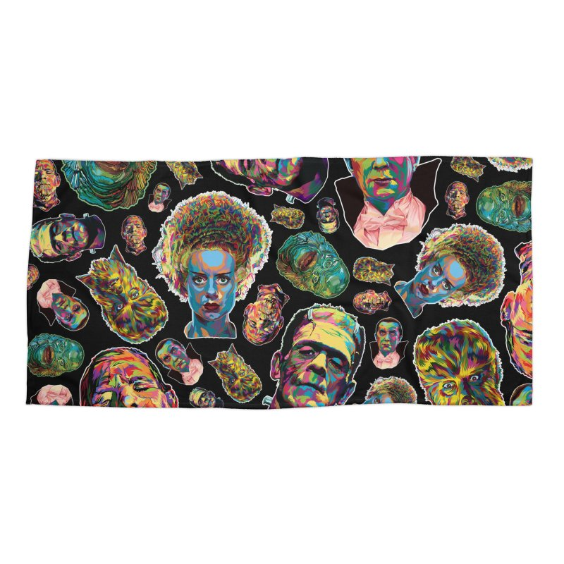 The Classics - In Stunning COLORS! Accessories Beach Towel by pentoolarts's Artist Shop
