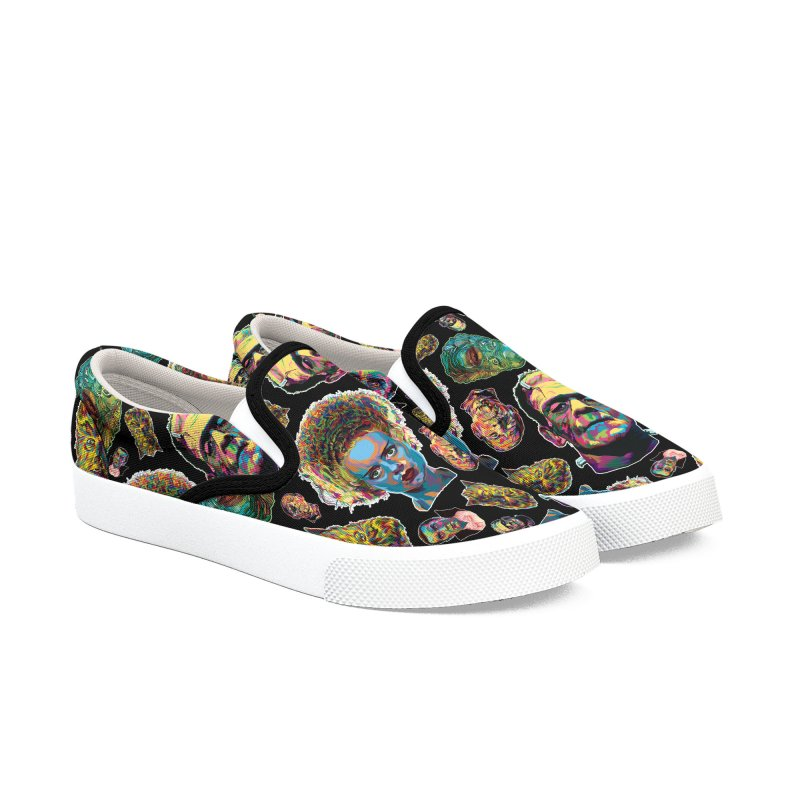 The Classics - In Stunning COLORS! Women's Slip-On Shoes by pentoolarts's Artist Shop