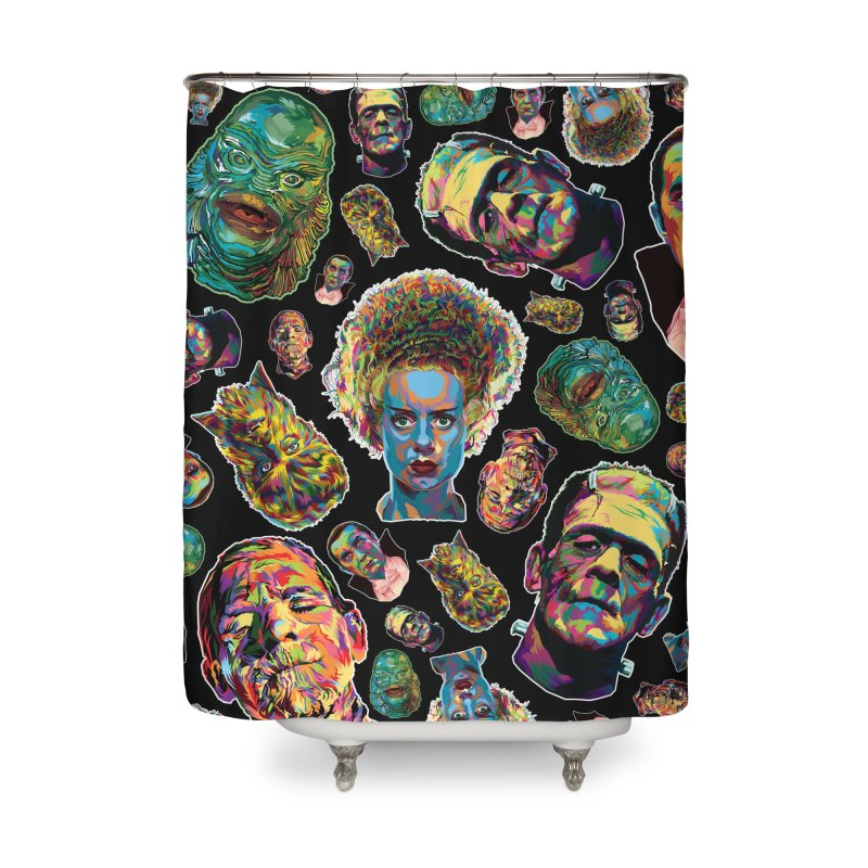 The Classics - In Stunning COLORS! Home Shower Curtain by pentoolarts's Artist Shop