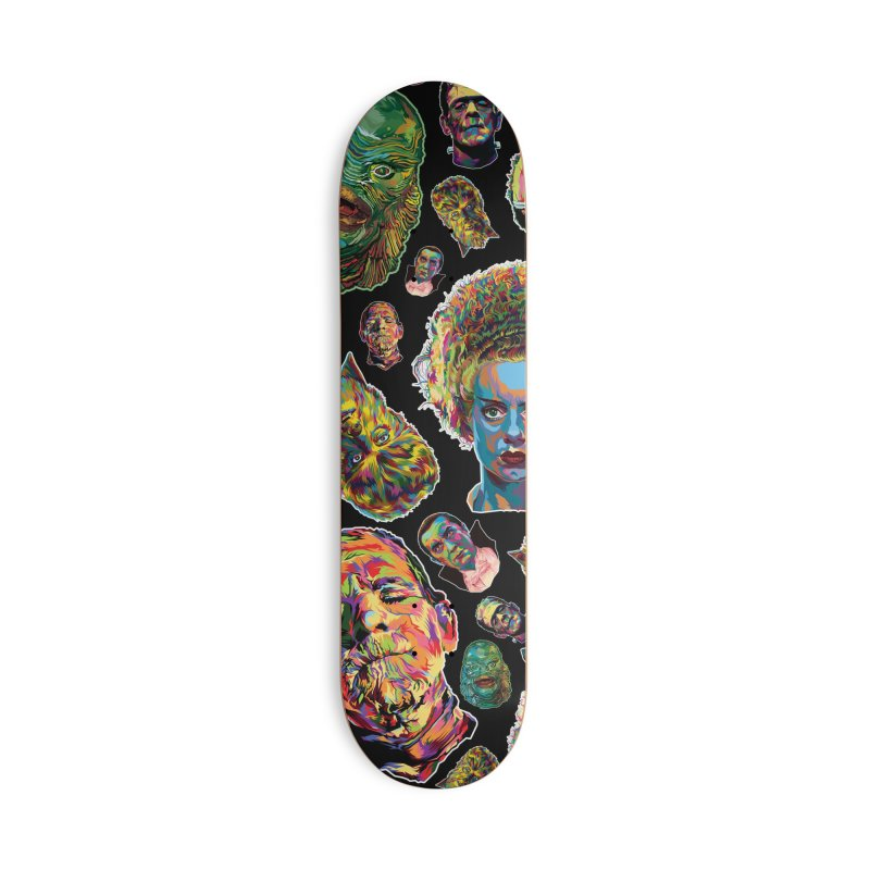 The Classics - In Stunning COLORS! Accessories Deck Only Skateboard by pentoolarts's Artist Shop
