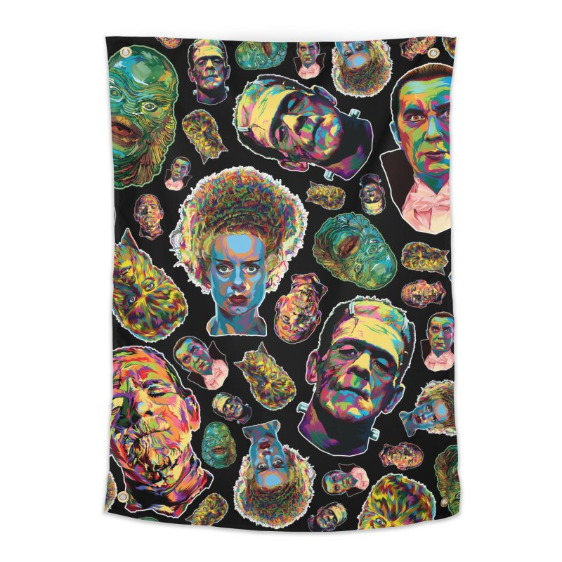 The Classics - In Stunning COLORS! Home Tapestry by pentoolarts's Artist Shop