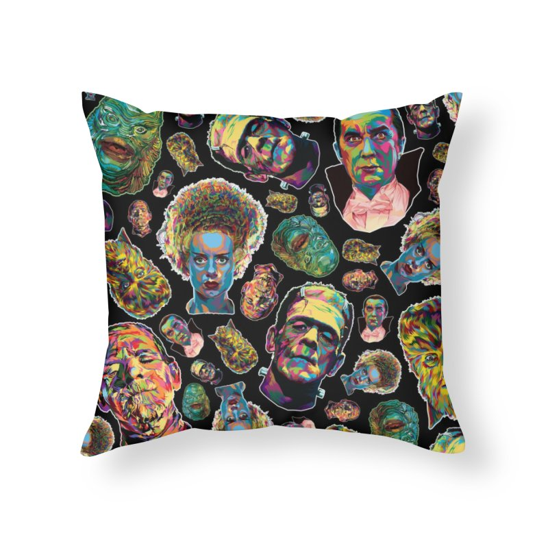 The Classics - In Stunning COLORS! Home Throw Pillow by pentoolarts's Artist Shop