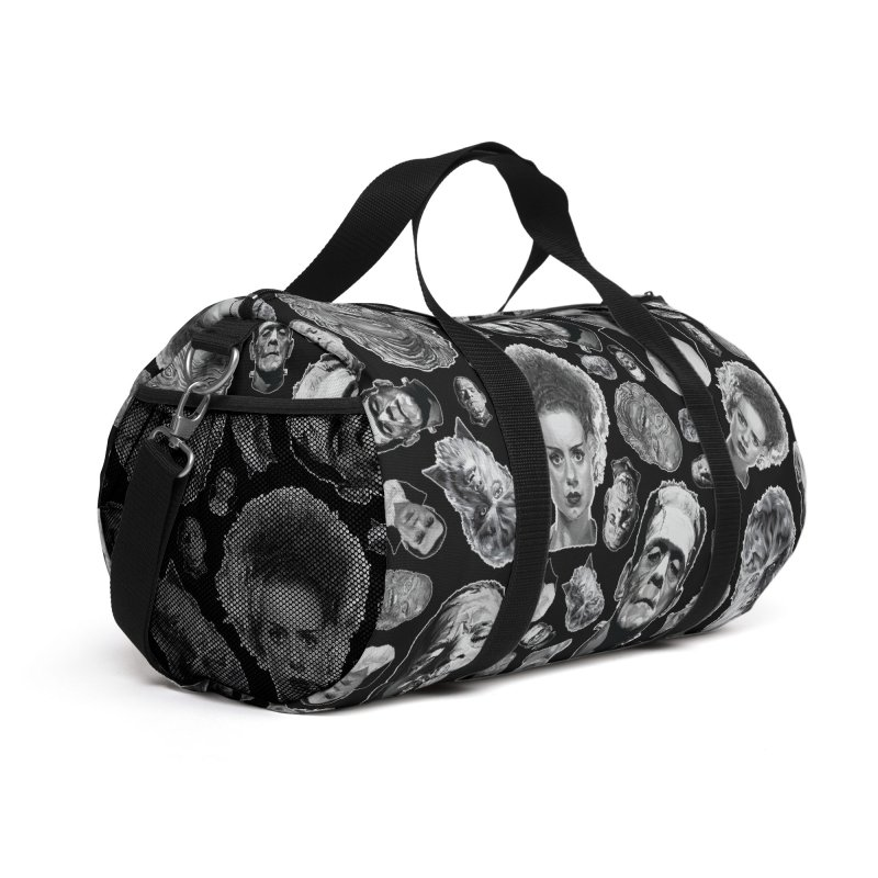Horror Never Goes Out of Style...  in Black & White! Accessories Bag by pentoolarts's Artist Shop