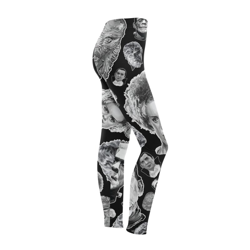 Horror Never Goes Out of Style...  in Black & White! Women's Bottoms by pentoolarts's Artist Shop