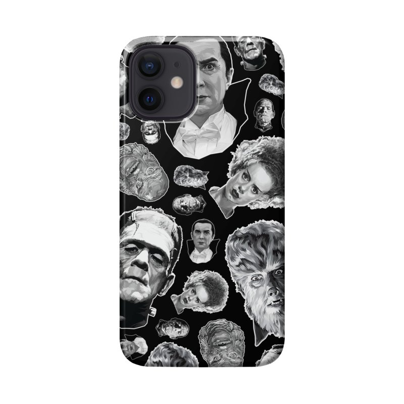 Horror Never Goes Out of Style...  in Black & White! Accessories Phone Case by pentoolarts's Artist Shop