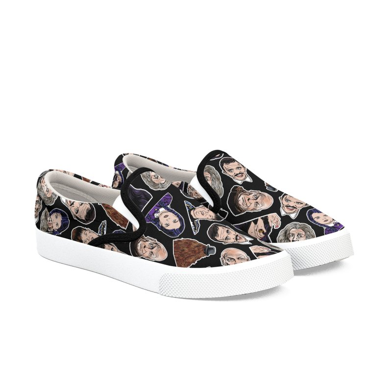 It's All About the Family Women's Slip-On Shoes by pentoolarts's Artist Shop