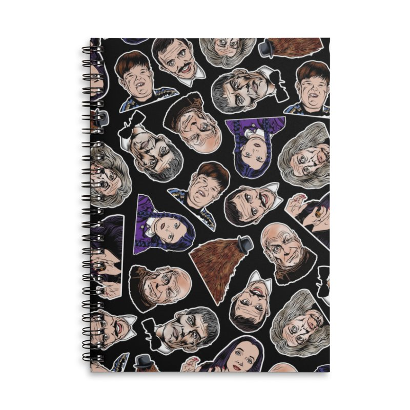 It's All About the Family Accessories Lined Spiral Notebook by pentoolarts's Artist Shop
