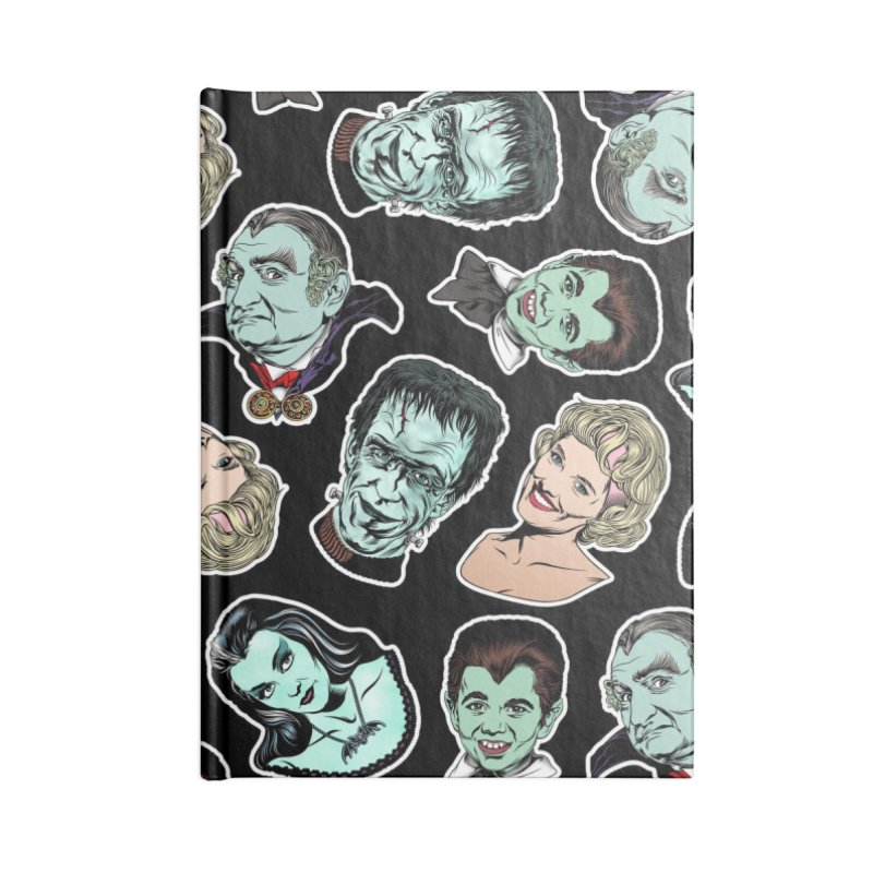 The All-Time Greatest Television Family! Accessories Lined Journal Notebook by pentoolarts's Artist Shop