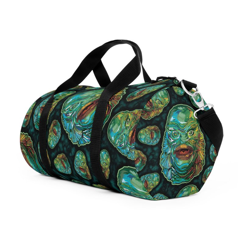 Lots and Lots of Creatures Accessories Duffel Bag Bag by pentoolarts's Artist Shop