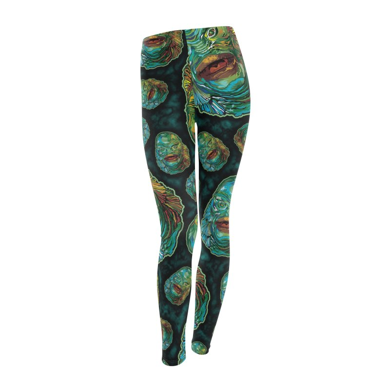 Lots and Lots of Creatures Women's Leggings Bottoms by pentoolarts's Artist Shop