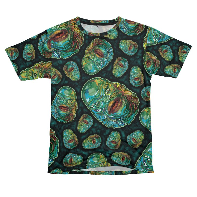 Lots and Lots of Creatures Men's T-Shirt Cut & Sew by pentoolarts's Artist Shop