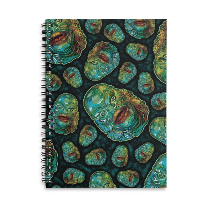 Lots and Lots of Creatures Accessories Lined Spiral Notebook by pentoolarts's Artist Shop
