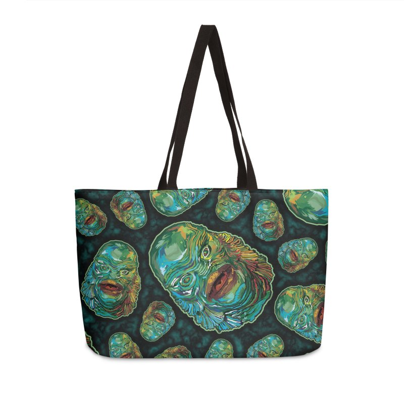 Lots and Lots of Creatures Accessories Weekender Bag Bag by pentoolarts's Artist Shop