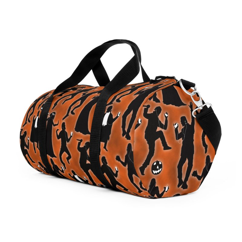 Everybody's Groovin', Everybody's Movin! Accessories Duffel Bag Bag by pentoolarts's Artist Shop