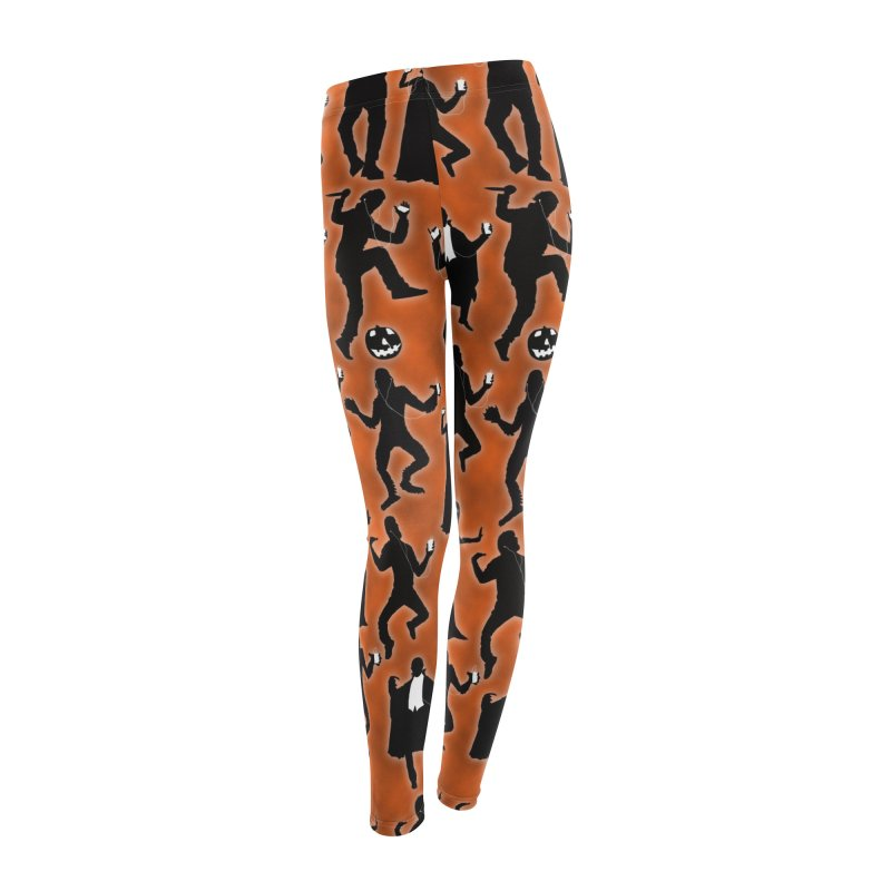 Everybody's Groovin', Everybody's Movin! Women's Leggings Bottoms by pentoolarts's Artist Shop