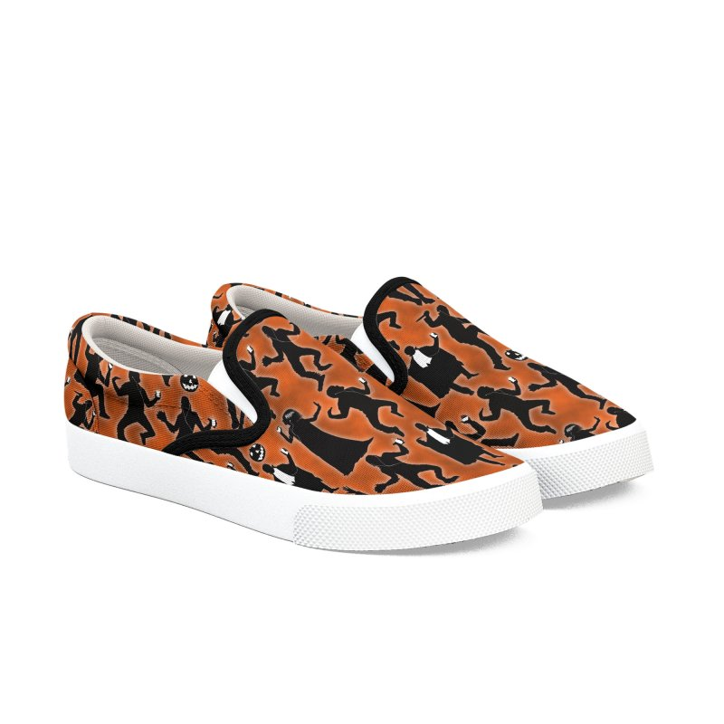 Everybody's Groovin', Everybody's Movin! Women's Slip-On Shoes by pentoolarts's Artist Shop