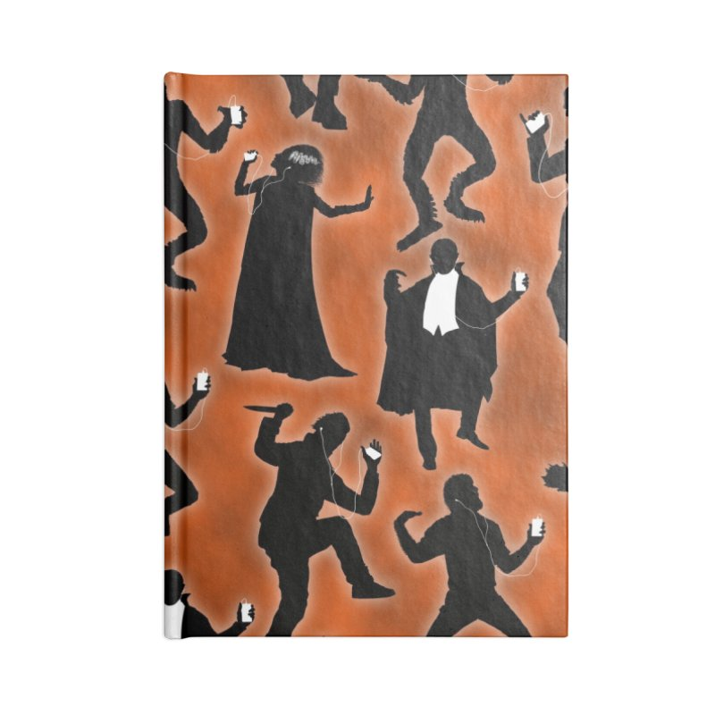 Everybody's Groovin', Everybody's Movin! Accessories Lined Journal Notebook by pentoolarts's Artist Shop