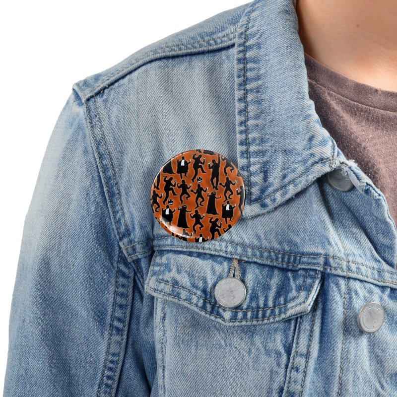 Everybody's Groovin', Everybody's Movin! Accessories Button by pentoolarts's Artist Shop