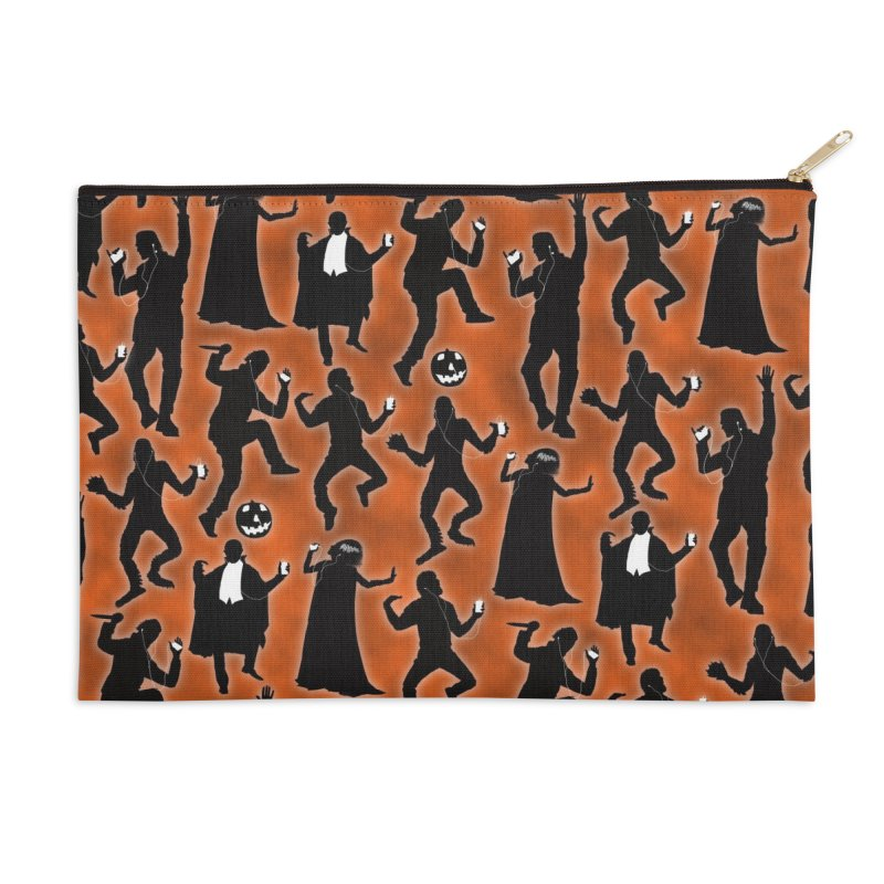 Everybody's Groovin', Everybody's Movin! Accessories Zip Pouch by pentoolarts's Artist Shop
