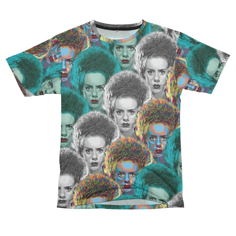 The Bride... Men's French Terry T-Shirt Cut & Sew by pentoolarts's Artist Shop