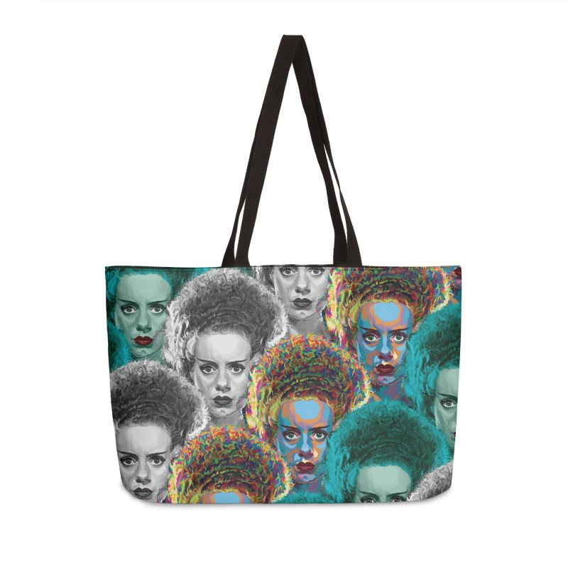 The Bride... Accessories Weekender Bag Bag by pentoolarts's Artist Shop
