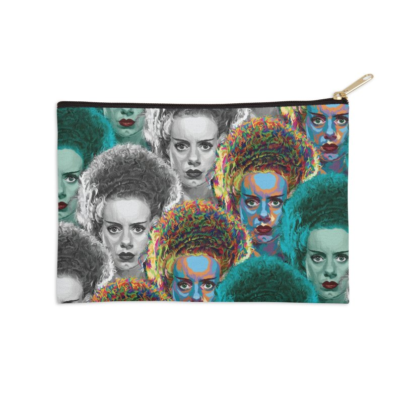 The Bride... Accessories Zip Pouch by pentoolarts's Artist Shop