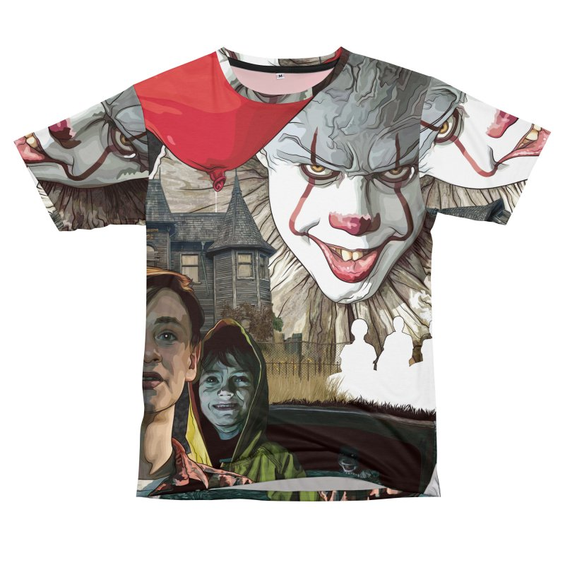 A Tribute to Pennywise... Women's Unisex T-Shirt Cut & Sew by pentoolarts's Artist Shop