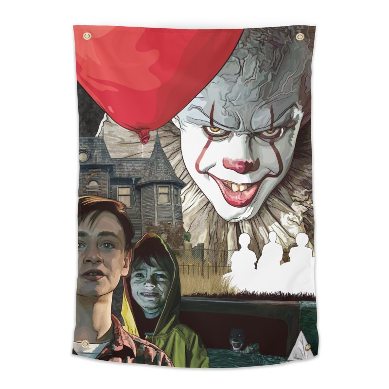 A Tribute to Pennywise... Home Tapestry by pentoolarts's Artist Shop