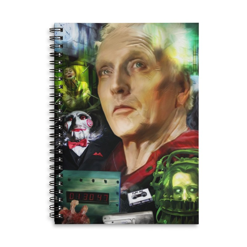 A Tribute to SAW... Accessories Lined Spiral Notebook by pentoolarts's Artist Shop