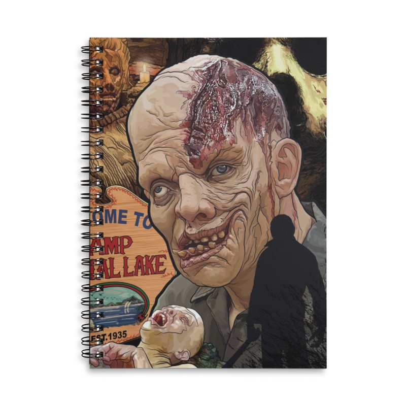 A Tribute to The Killer In the Woods... Accessories Lined Spiral Notebook by pentoolarts's Artist Shop