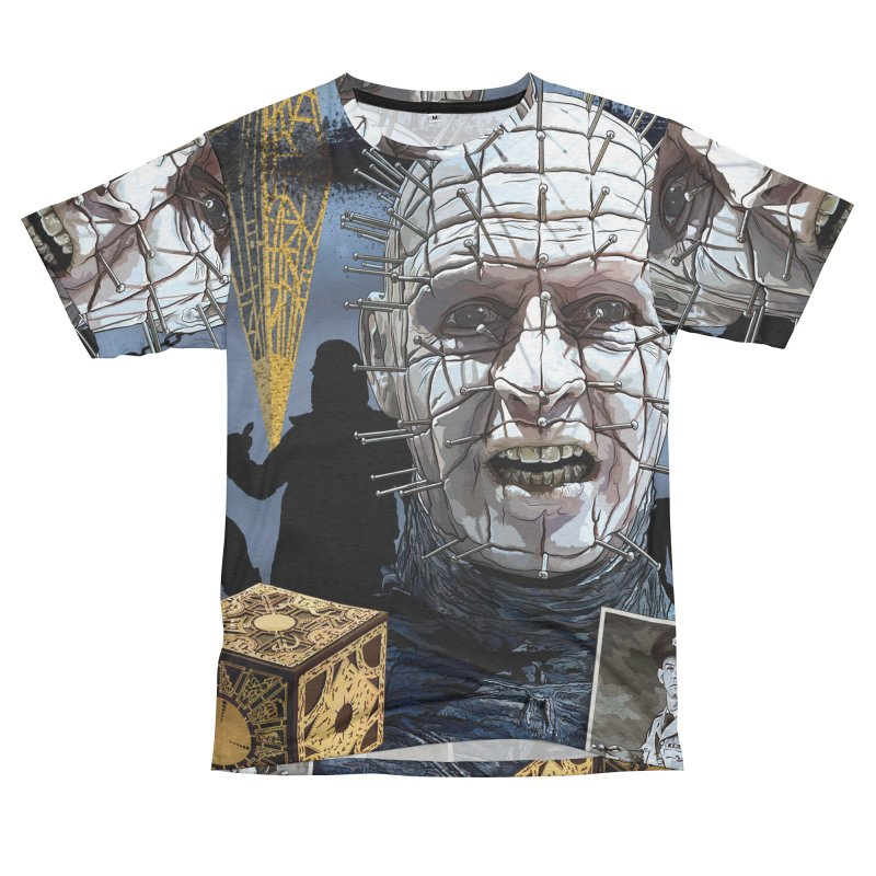 A Tribute to The Priest of Hell... Men's French Terry T-Shirt Cut & Sew by pentoolarts's Artist Shop