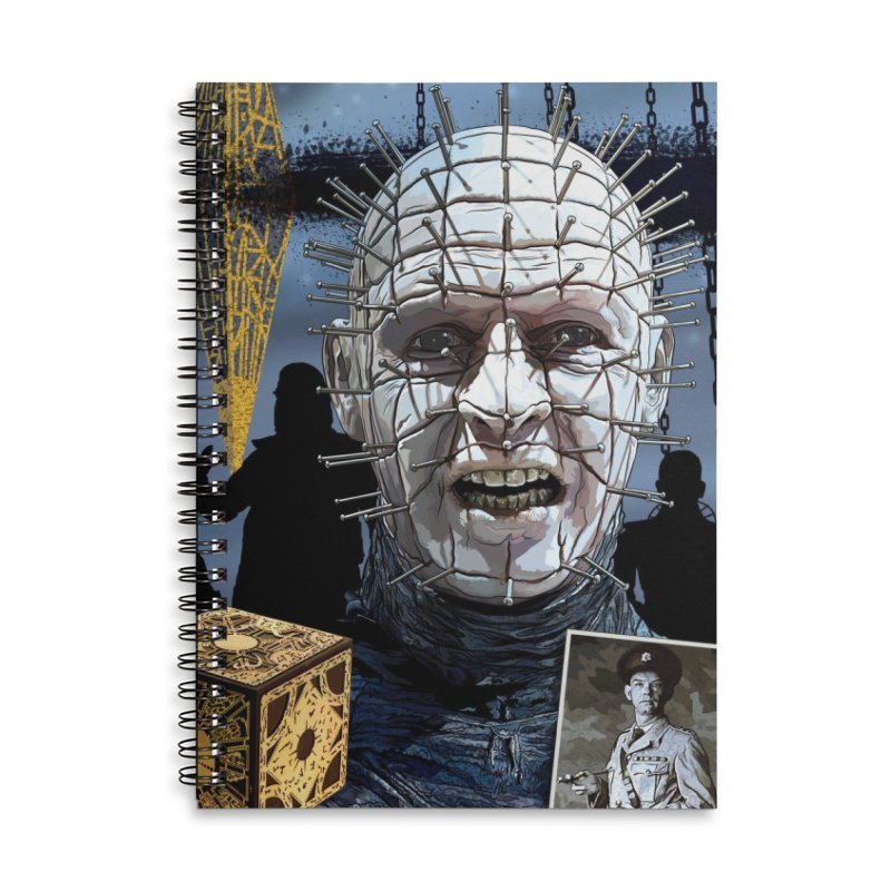 A Tribute to The Priest of Hell... Accessories Lined Spiral Notebook by pentoolarts's Artist Shop