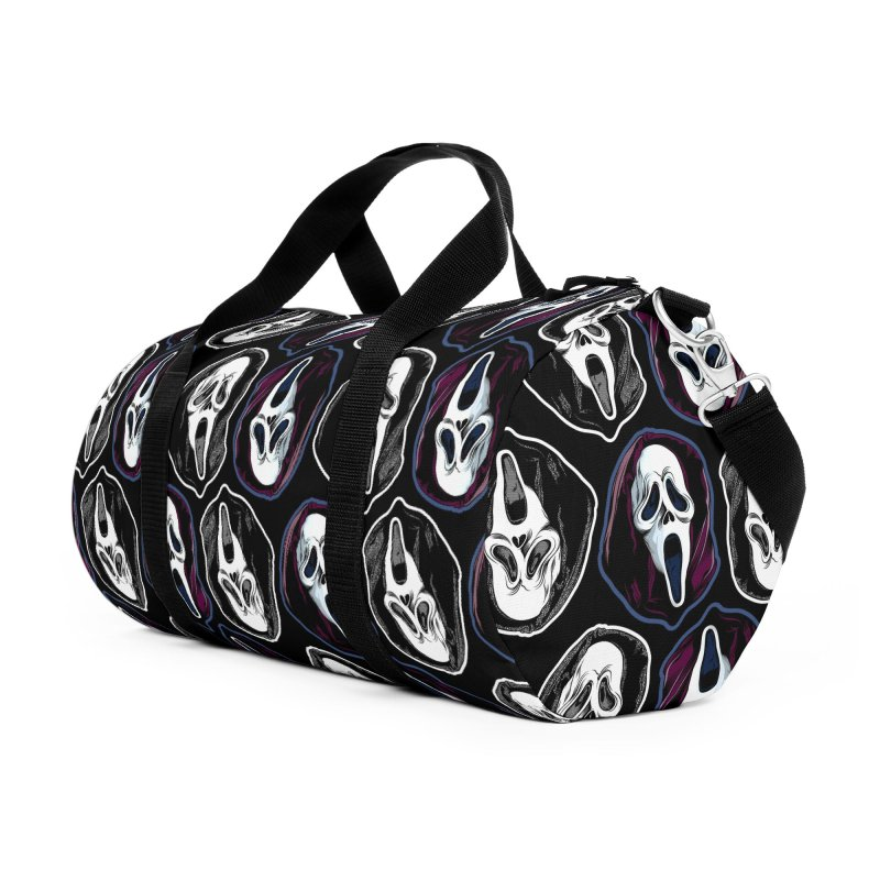 The Ghost with the Most... Accessories Duffel Bag Bag by pentoolarts's Artist Shop
