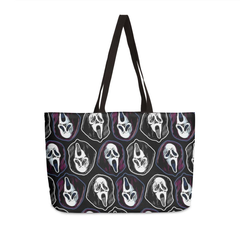 The Ghost with the Most... Accessories Weekender Bag Bag by pentoolarts's Artist Shop