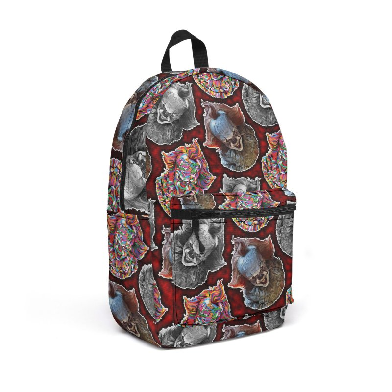 A Wonderful World of Clowns.... Accessories Backpack Bag by pentoolarts's Artist Shop