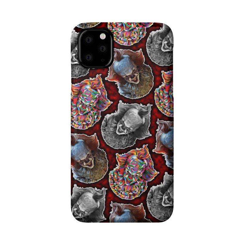 A Wonderful World of Clowns.... Accessories Phone Case by pentoolarts's Artist Shop