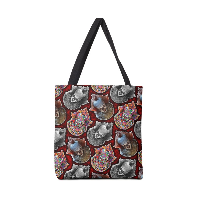 A Wonderful World of Clowns.... Accessories Tote Bag Bag by pentoolarts's Artist Shop