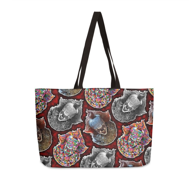 A Wonderful World of Clowns.... Accessories Weekender Bag Bag by pentoolarts's Artist Shop