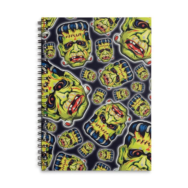 Vintage Halloween! Accessories Lined Spiral Notebook by pentoolarts's Artist Shop