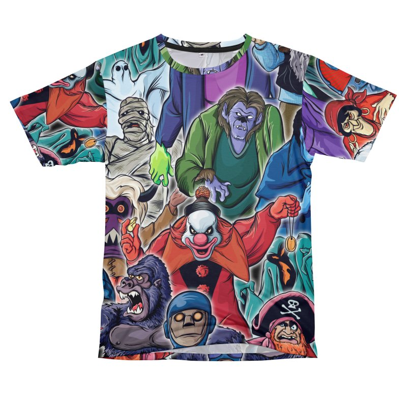 A Cast of Villains Men's Cut & Sew by pentoolarts's Artist Shop