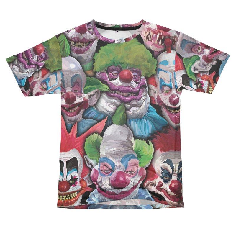 Killer Klowns Rule!!!! Men's Cut & Sew by pentoolarts's Artist Shop