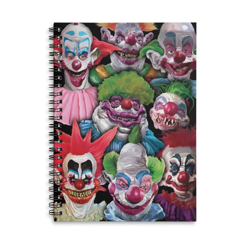 Killer Klowns Rule!!!! Accessories Notebook by pentoolarts's Artist Shop