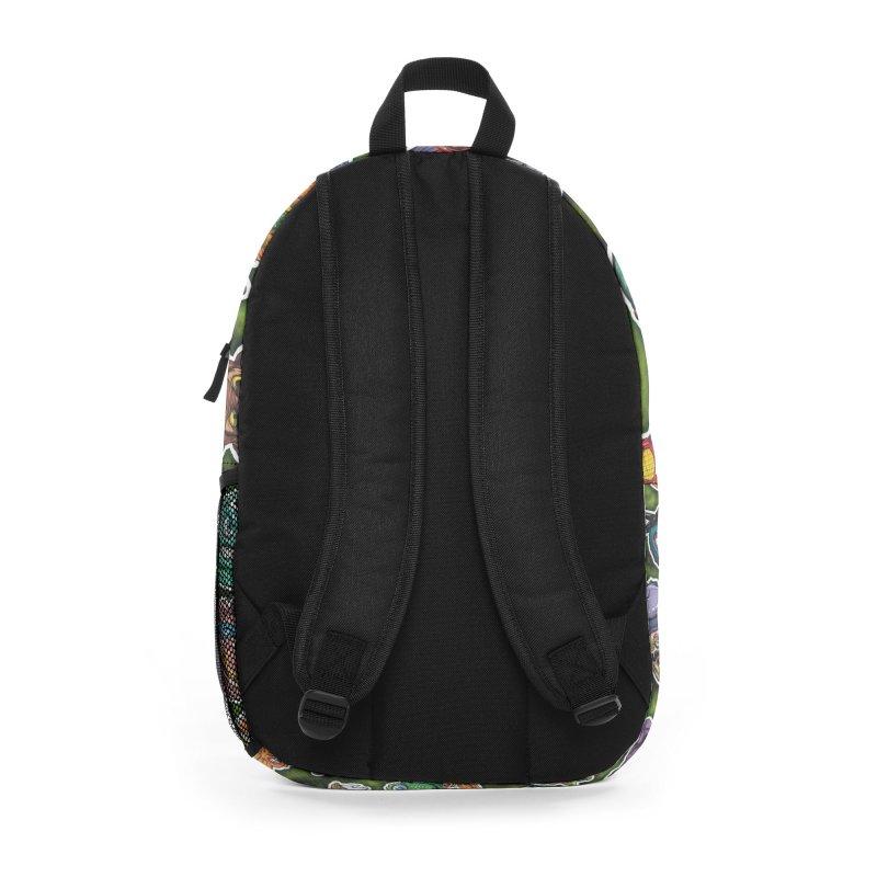 Turtles Time Accessories Bag by pentoolarts's Artist Shop