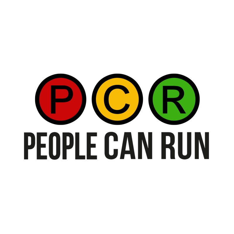 STOP/WAIT/GO PCR LOGO by peoplecanrun's Artist Shop